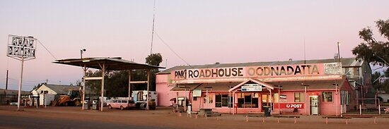 Pink Roadhouse, Oodnadatta by Property & Construction Photography