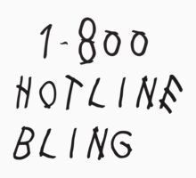 Drake Hotline Bling Kids Clothes