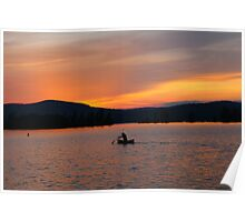 Evening Paddle Poster