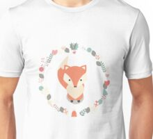 Christmas baby fox 02 Unisex T-Shirt