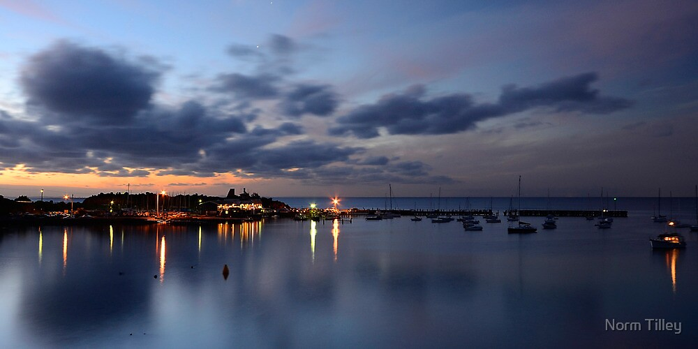 Harbor Lights by Norm Tilley