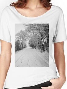 First Snowstorm Women's Relaxed Fit T-Shirt