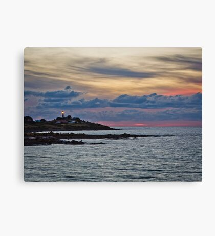 Days End Canvas Print