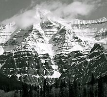 Highest Peak in Canadian Rockies by EvanWilliams