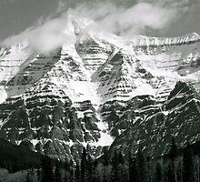 Highest Peak in Canadian Rockies by EvanWilliams