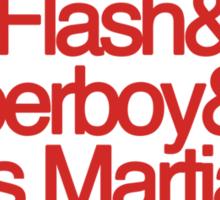 The Team (Red) Sticker