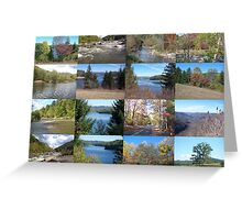 Greatest West Virginia Collage in the World Greeting Card