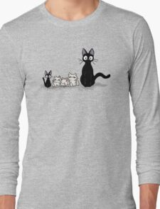 Jiji and kittens  Long Sleeve T-Shirt