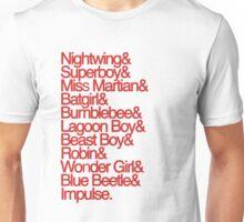 The Team (Invasion, Red) Unisex T-Shirt