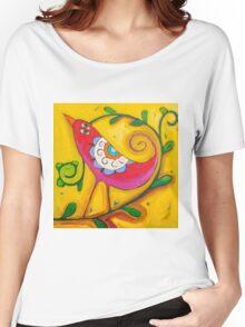 Sun on the Lovebird Women's Relaxed Fit T-Shirt