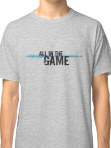 """All in the Game - """"The Wire"""" - Dark Classic T-Shirt"""