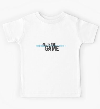 "All in the Game - ""The Wire"" - Dark Kids Tee"