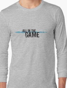 """All in the Game - """"The Wire"""" - Dark Long Sleeve T-Shirt"""