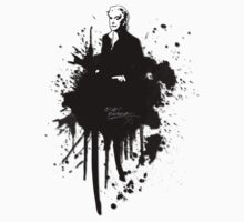 "Alan Rickman ""Splatters"" by scatharis"