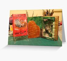 Altered Books Greeting Card