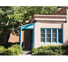 blue windows Photographic Print
