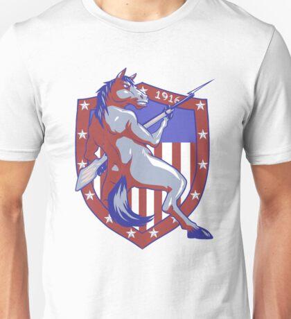 Horses and Bayonets - 1916 Unisex T-Shirt
