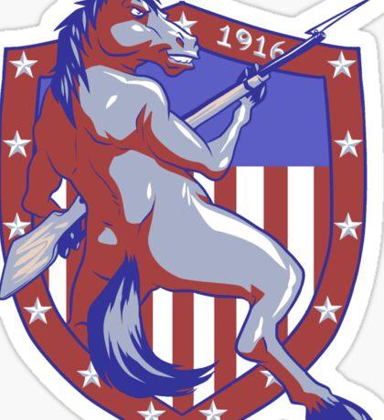 Horses and Bayonets - 1916 Sticker
