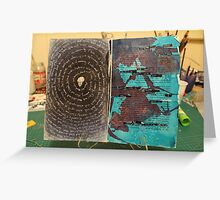 Altered Book - Innerself - Dust Greeting Card
