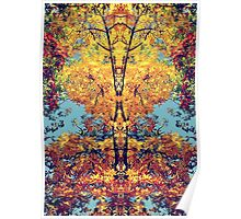 Autumn Totem Pole Poster