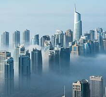 Jumeirah Clouds Towers by Sebastian Opitz