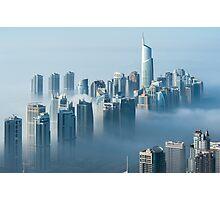 Jumeirah Clouds Towers Photographic Print