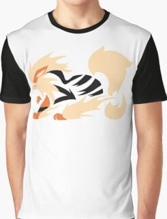 Legendary Flame - Arcanine (Fierce) Graphic T-Shirt