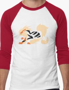 Legendary Flame - Arcanine (Fierce) Men's Baseball ¾ T-Shirt