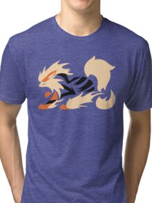 Legendary Flame - Arcanine (Fierce) Tri-blend T-Shirt