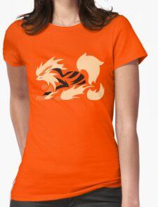 Legendary Flame - Arcanine (Fierce) Womens Fitted T-Shirt