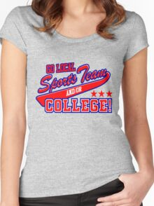 Go Local Sports Team Women's Fitted Scoop T-Shirt