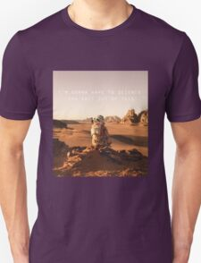 The Martian Quote T-Shirt