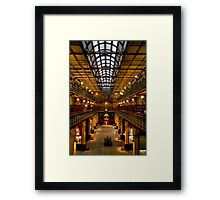 Inside the Mortlock Wing Framed Print
