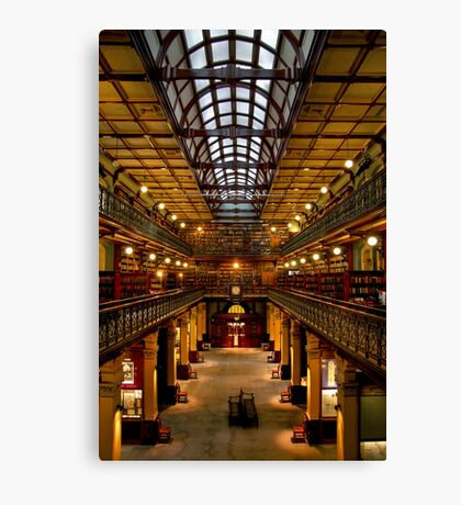 Inside the Mortlock Wing Canvas Print
