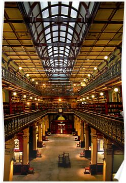 Inside the Mortlock Wing by Christine Smith