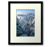 Arrows Down Framed Print
