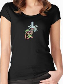 The Pixel of Zelda Women's Fitted Scoop T-Shirt