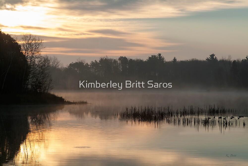 Ducks at Dawn by KBritt
