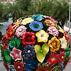 Singapore, flower ball VivoCity by Heike Richter