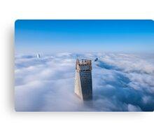 Cloud Castles Canvas Print