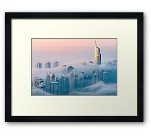 Gentle Kiss Framed Print