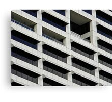 IBM Building Canvas Print