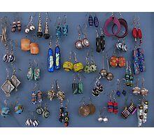 Kate's earrings Photographic Print