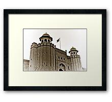 Lahore Fort Framed Print