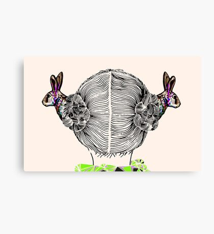 ANGEL HARE  Canvas Print