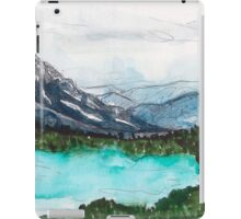 Lake Nature Scene iPad Case/Skin