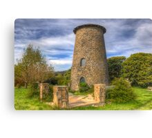 NIMMITABEL, NEW SOUTH WALES OLD GRAIN MILL Canvas Print