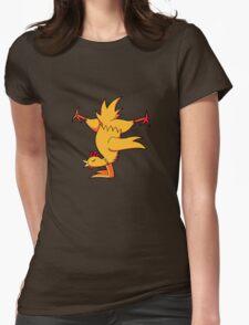 ninjitzoo - nunchook Womens Fitted T-Shirt