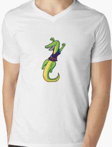 ninjitzoo - karate chomp Mens V-Neck T-Shirt