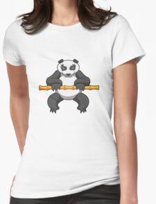 ninjitzoo - bamboo Womens Fitted T-Shirt